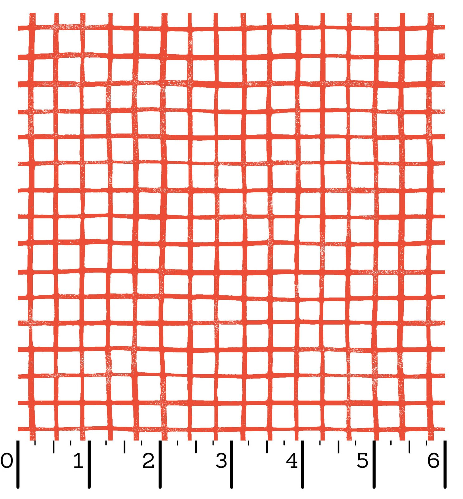 EESC-10083 R - CAN ANIMALS COUNT? BY MAYWOOD STUDIO PRINTED GRID RED - ARRIVING IN OCTOBER 2021