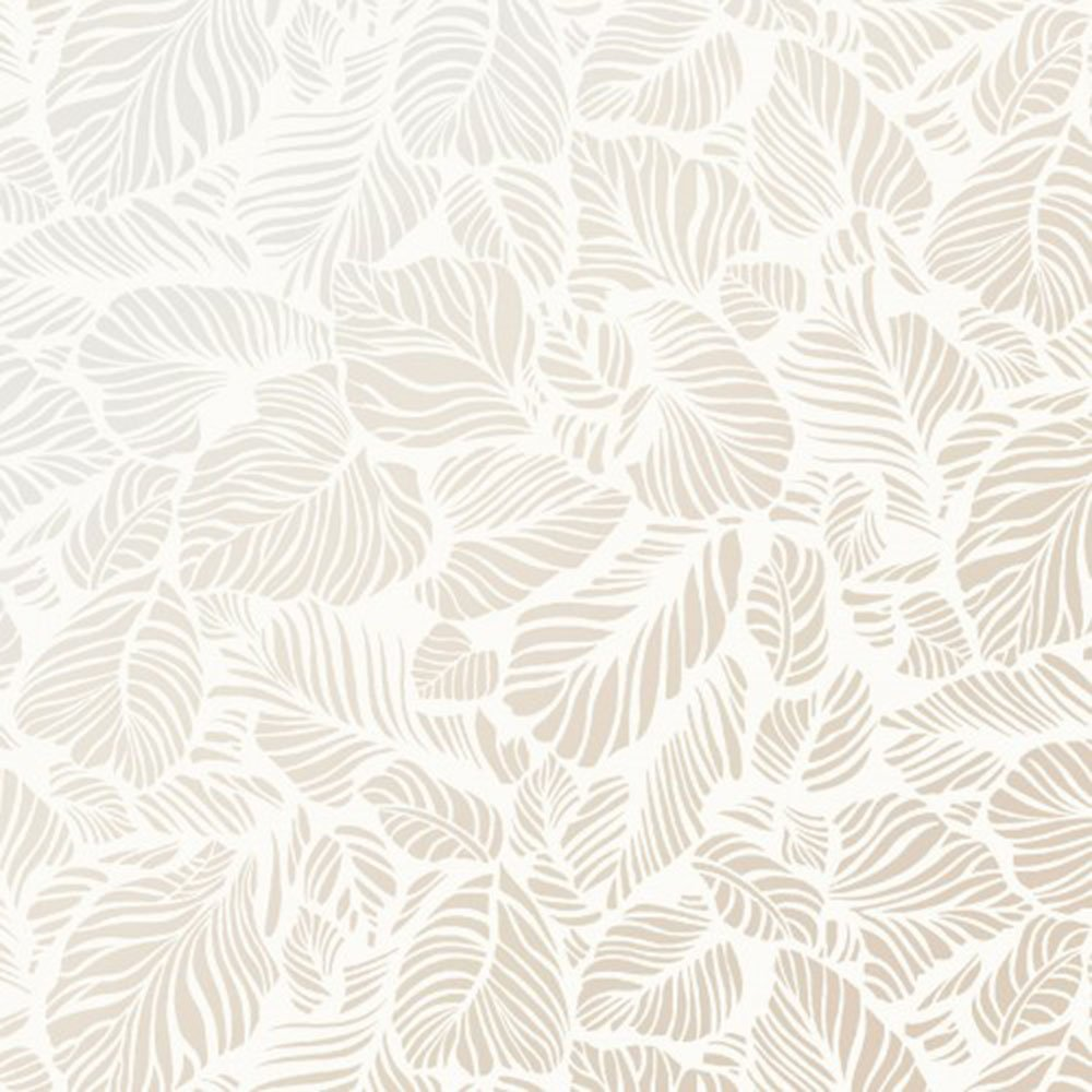 EESC-123 SW - PEARL ESSENCE BY MAYWOOD LEAF TEXTURE PEARL ON SOFT WHITE