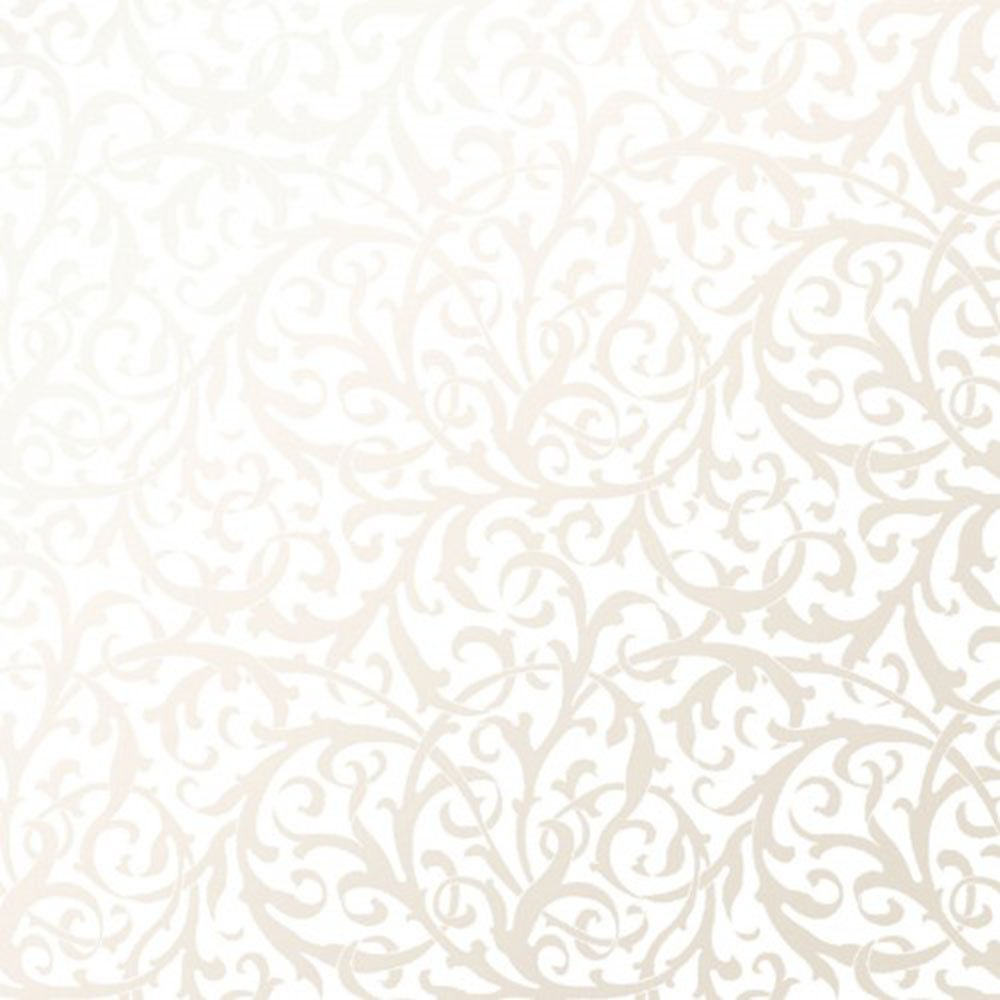 EESC-125 UW - PEARL ESSENCE BY MAYWOOD INTERTWINED SCROLL PEARL ON ULTRA WHITE