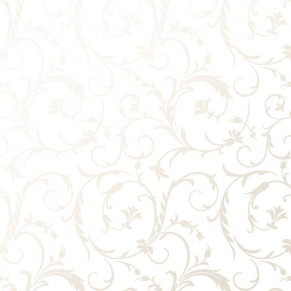 EESC-127 UW - PEARL ESSENCE BY MAYWOOD SCROLL PEARL ON ULTRA WHITE
