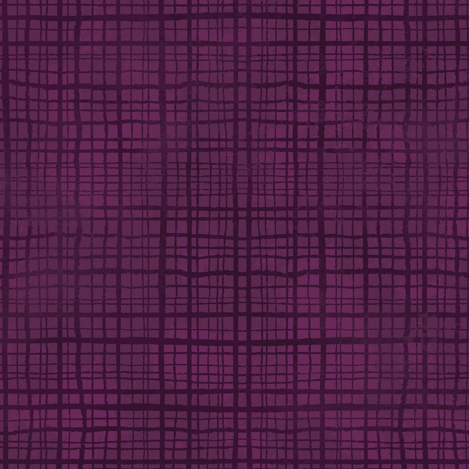 EESC-9730 V - AMOUR BY MONIQUE JACOBS PLAID TEXTURE DEEP PLUM