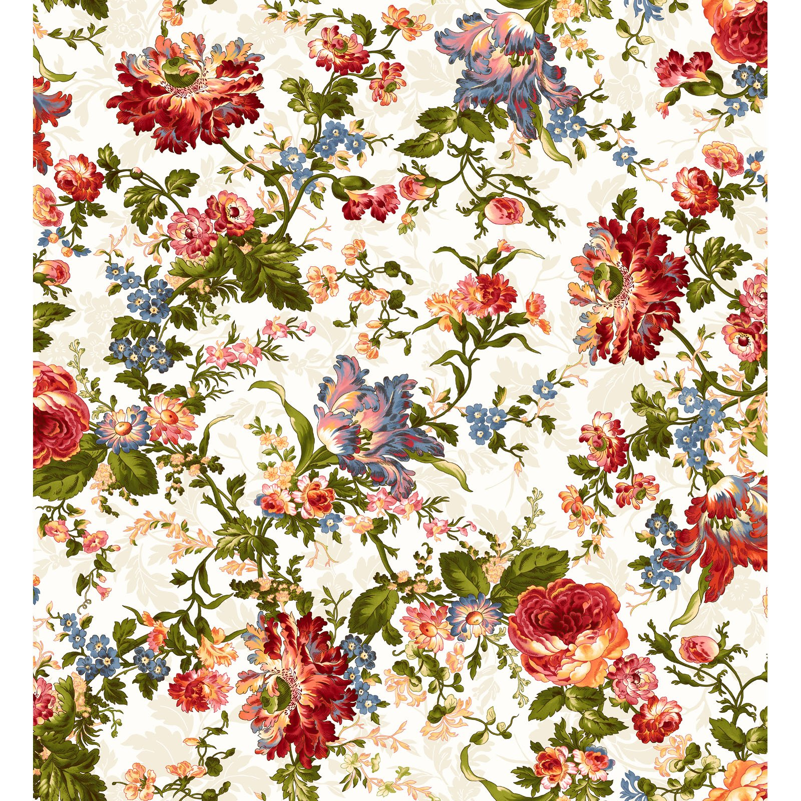 EESC-9870 E - BELLE EPOQUE BY MAYWOOD STUDIO BOLD FLORAL CREAM - ARRIVING JANUARY 2021