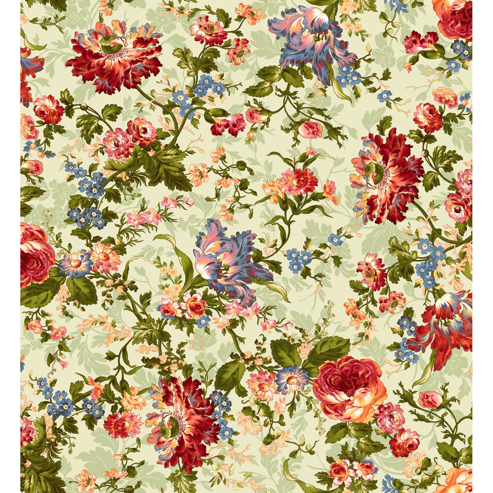 EESC-9870 G - BELLE EPOQUE BY MAYWOOD STUDIO BOLD FLORAL GREEN - ARRIVING JANUARY 2021