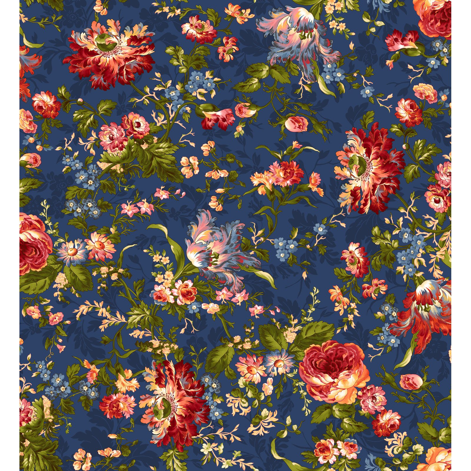 EESC-9870 N - BELLE EPOQUE BY MAYWOOD STUDIO BOLD FLORAL NAVY - ARRIVING JANUARY 2021