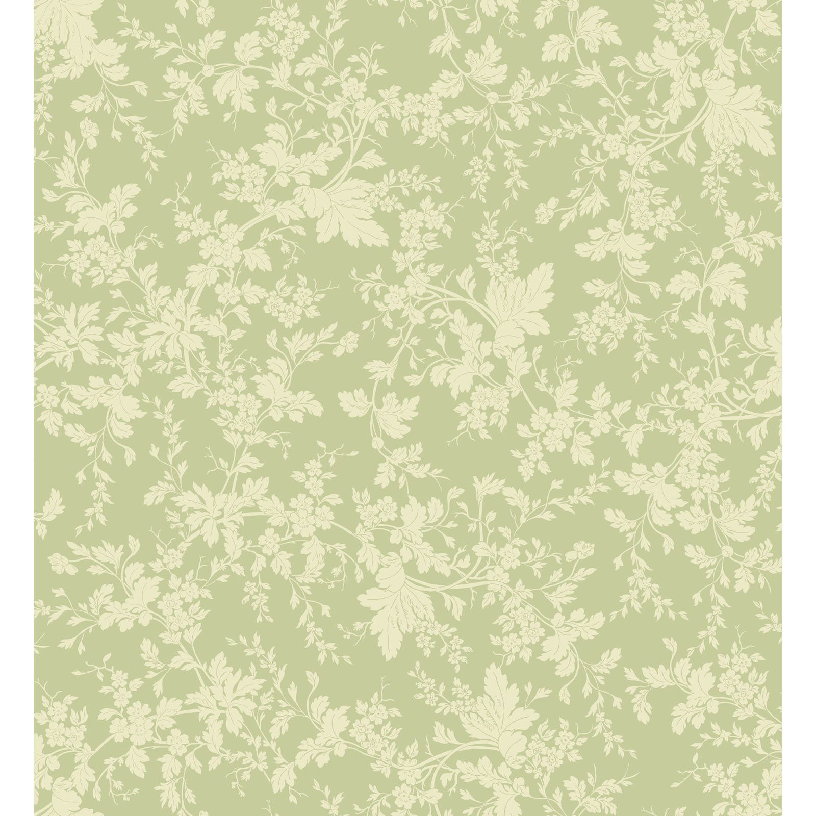 EESC-9875 G - BELLE EPOQUE BY MAYWOOD STUDIO FLORAL DAMASK GREEN - ARRIVING JANUARY 2021