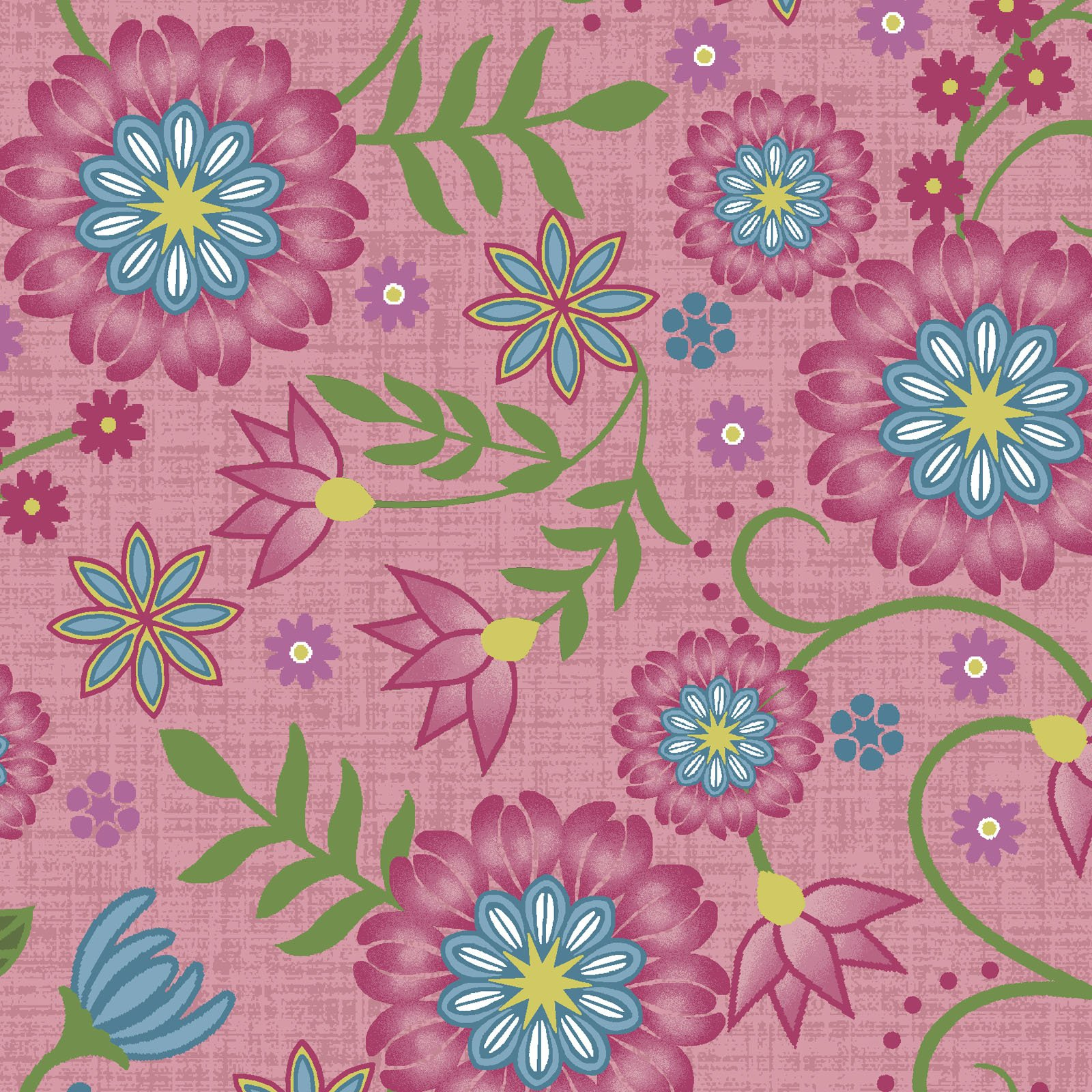 EESC-9880 P - FLOWER & VINE BY MONIQUE JACOBS FLOWER & VINE PINK - AVAILABLE TO ORDER