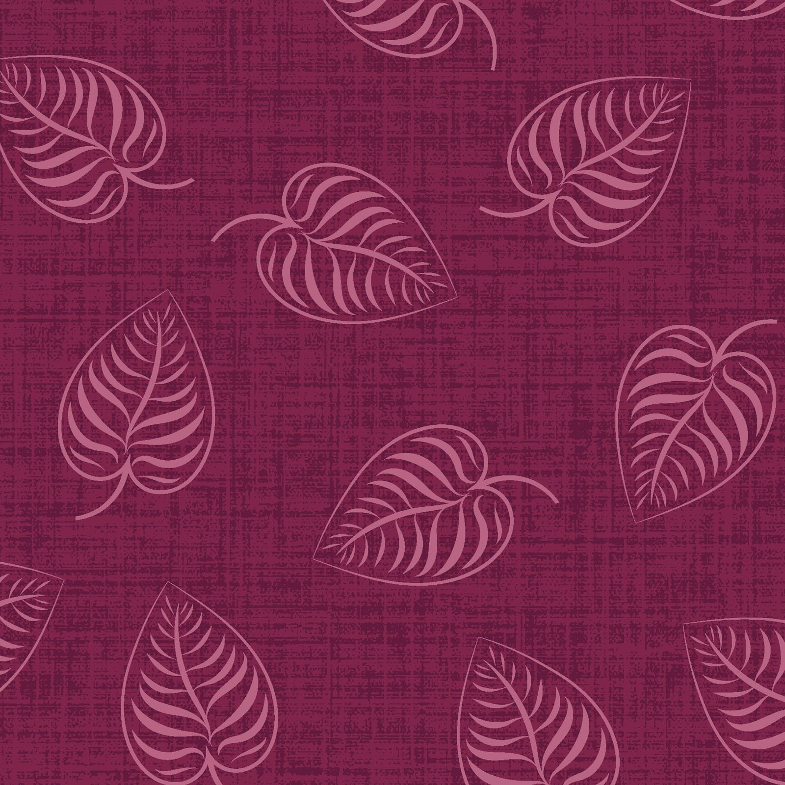 EESC-9883 R - FLOWER & VINE BY MONIQUE JACOBS LEAFPRINT RED - ARRIVING MARCH 2021