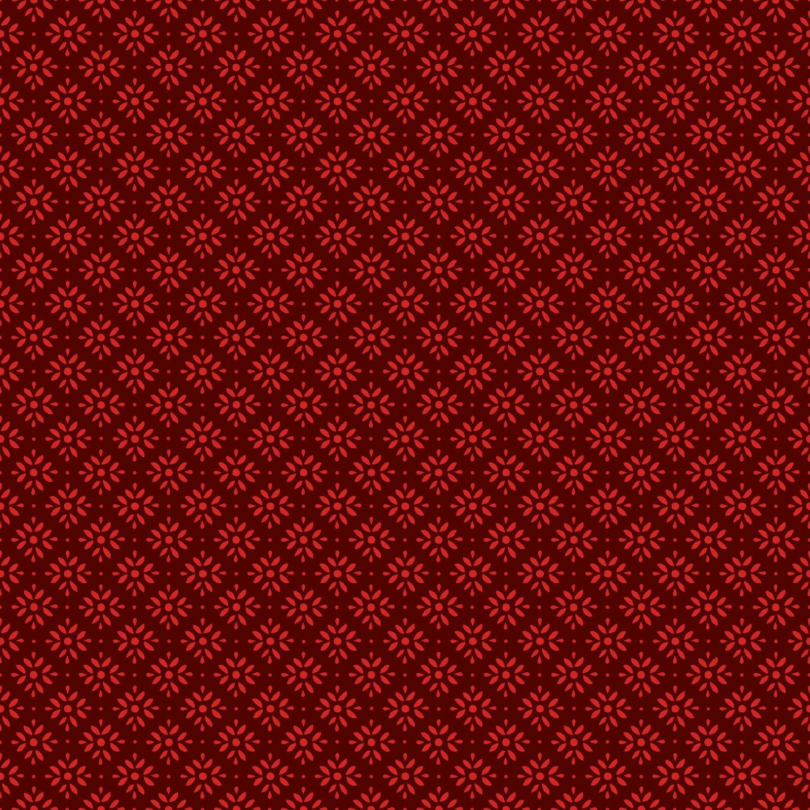 EESC-9918 R - JOYFUL BY MAYWOOD STUDIO SNOWFLAKE RED - ARRIVING IN JUNE 2021