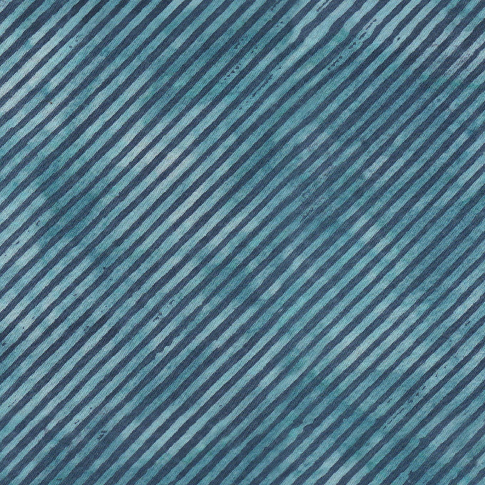 EESC-B50 QB - COLOR THERAPY BATIKS BY MAYWOOD STUDIO BIAS STRIPE TEAL/BLUE - ARRIVING DECEMBER 2020