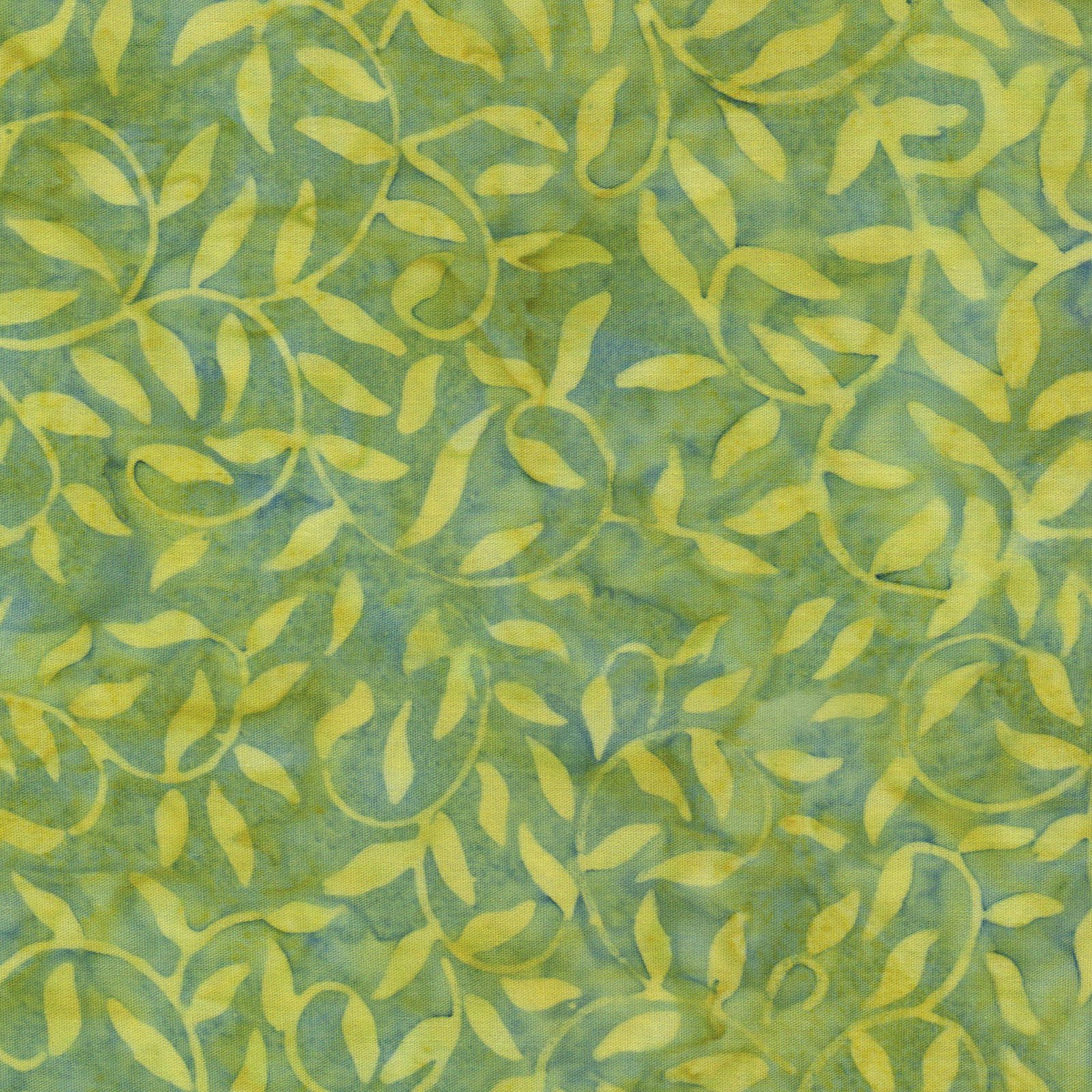 EESC-B51 G - COLOR THERAPY BATIKS BY MAYWOOD STUDIO SCROLL-VINE GREEN - ARRIVING DECEMBER 2020