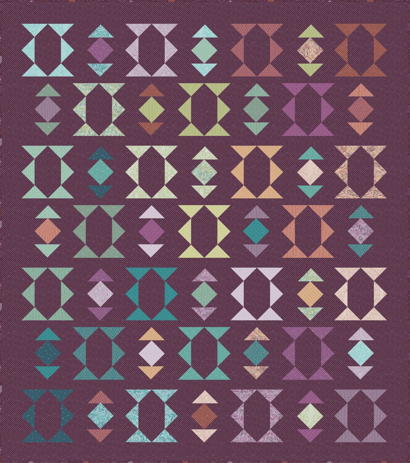 EESC-CHCSUP01 - SUPERSTITION QUILT PATTERN BY CHRISTINA CAMELLI LLC