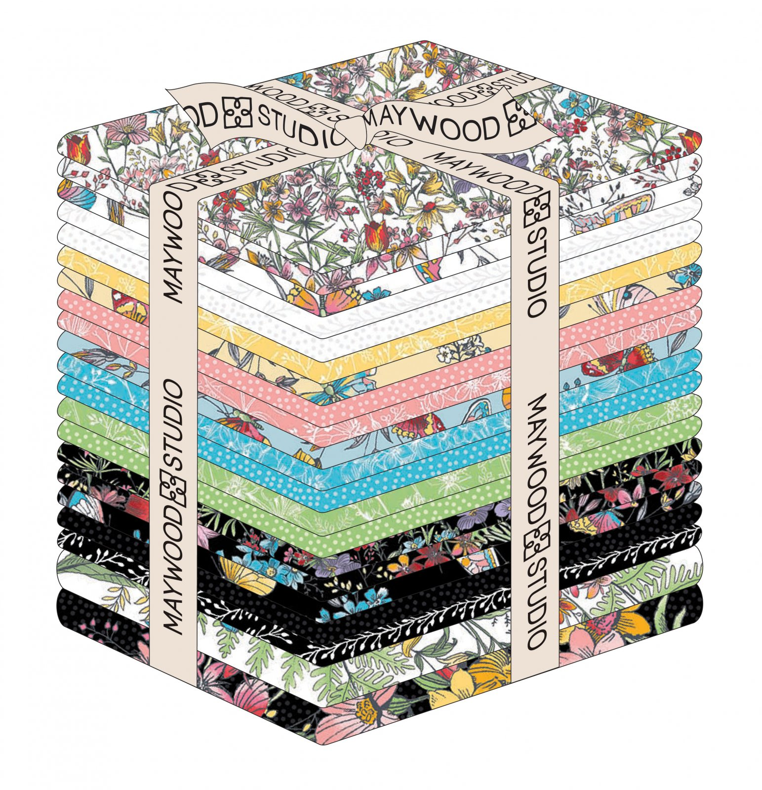 EESC-FQMASMEE - MEADOW EDGE - FAT QUARTER BUNDLES (20PC + 2PNL) - ARRIVING IN MAY 2021