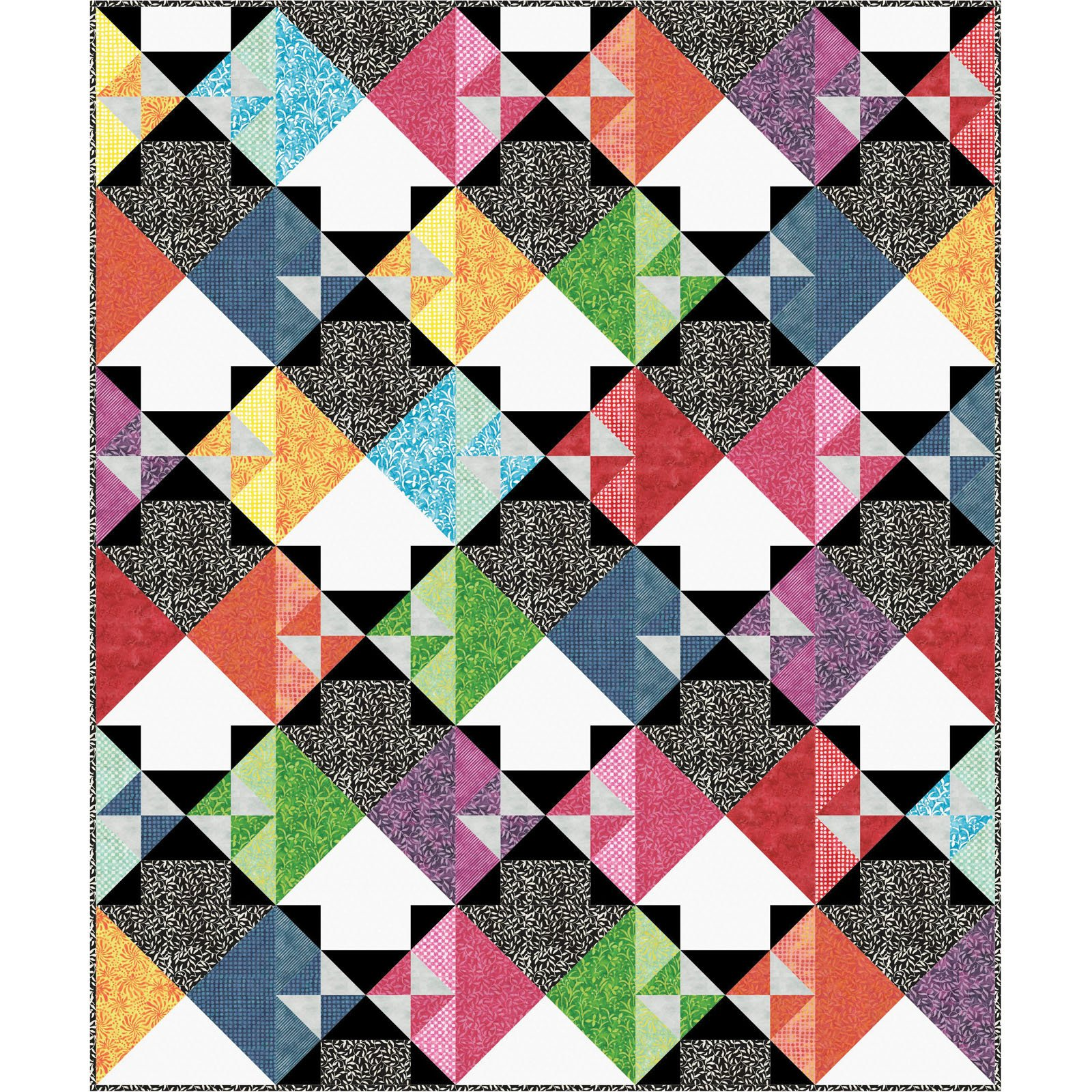 EESC-KITMASWHW - COLOR THERAPY BATIKS - WHICH WAY KIT 71 X 85 - ARRIVING DECEMBER 2020