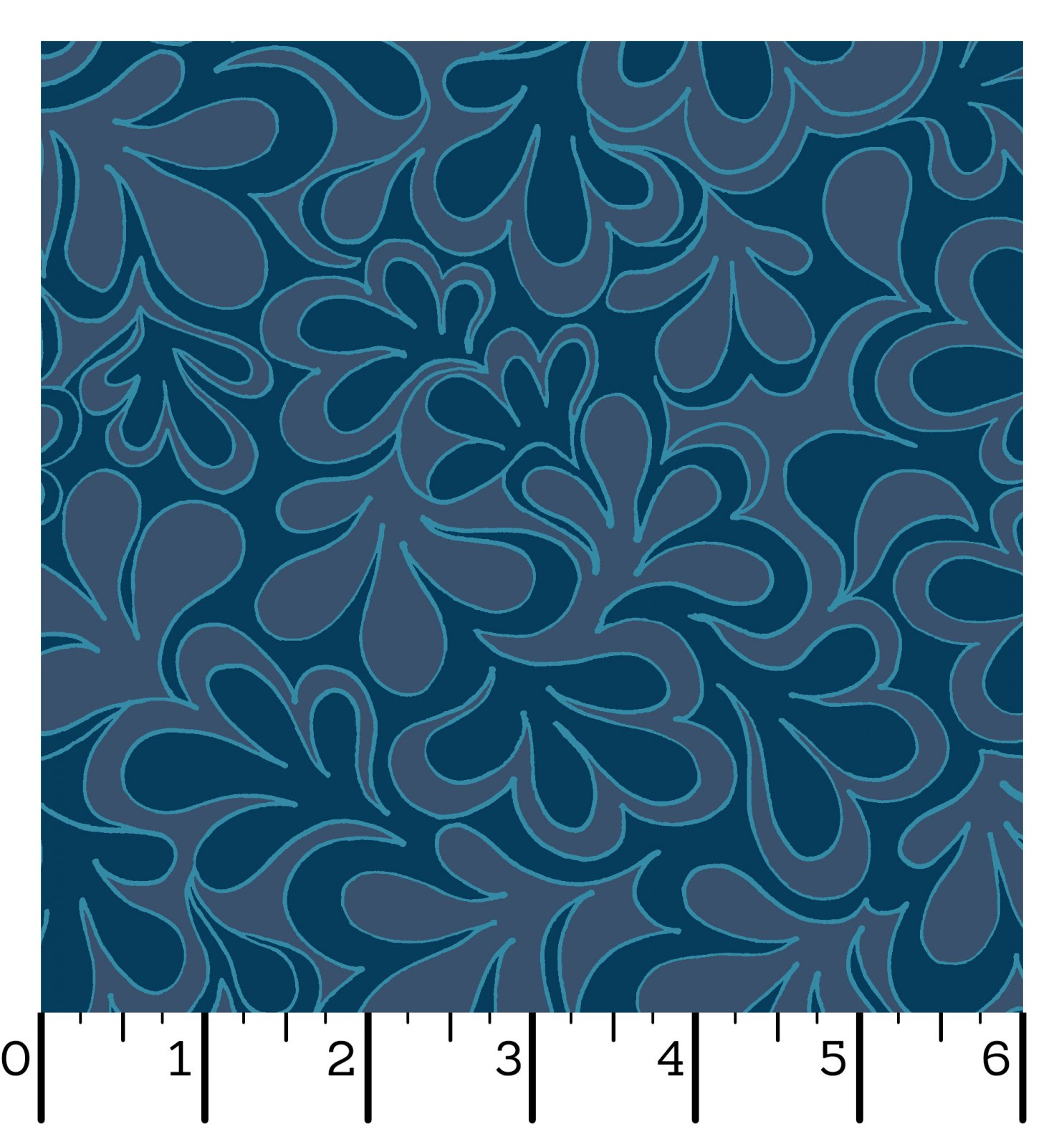 EESC-QBD10172 B - 108 INFINITY BACKINGS BY CHRISTINA CAMELI SUCCULENT BLUES - ARRIVING IN MARCH 2022
