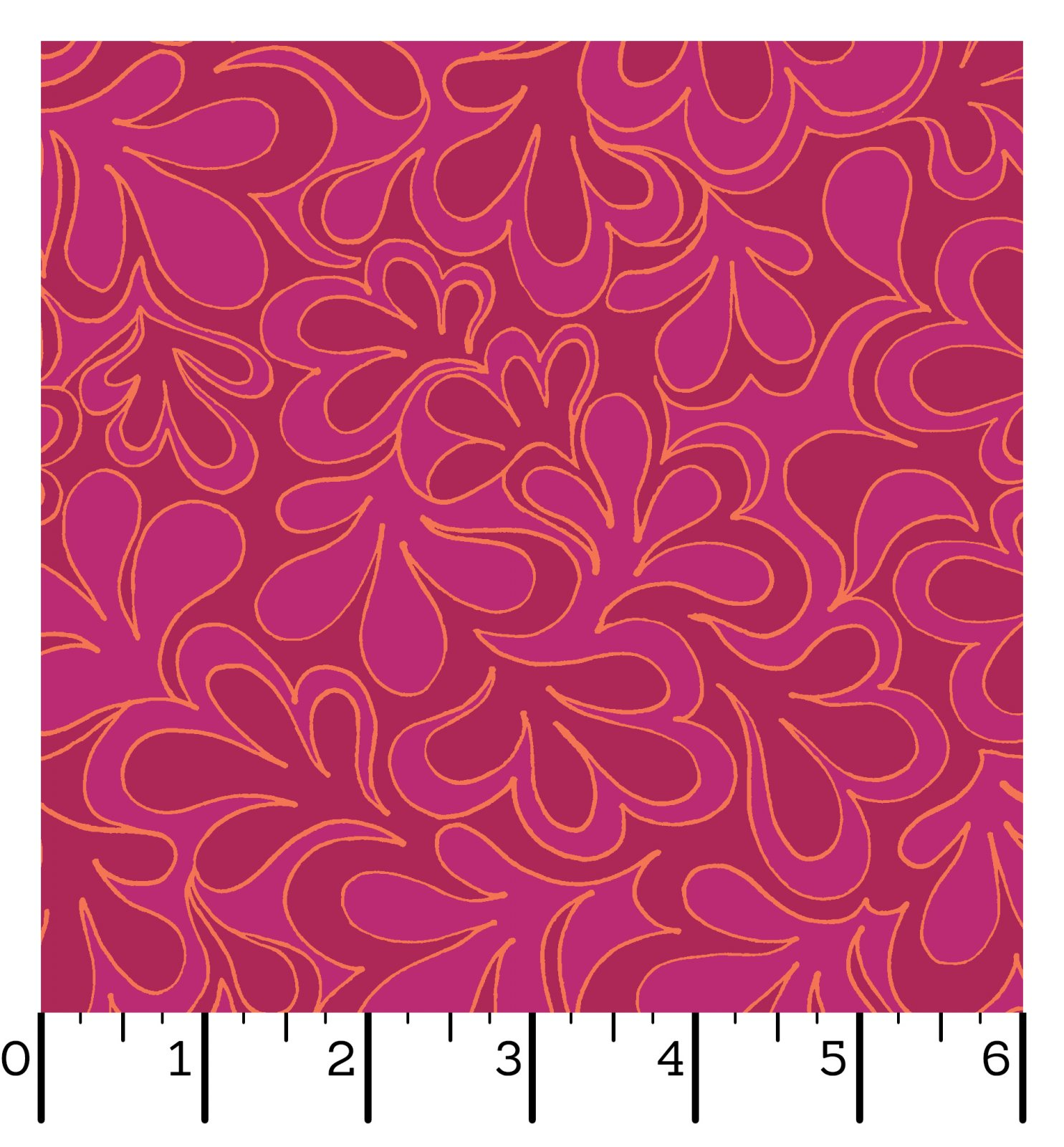 EESC-QBD10172 P - 108 INFINITY BACKINGS BY CHRISTINA CAMELI SUCCULENT MAGENTA - ARRIVING IN MARCH 2022