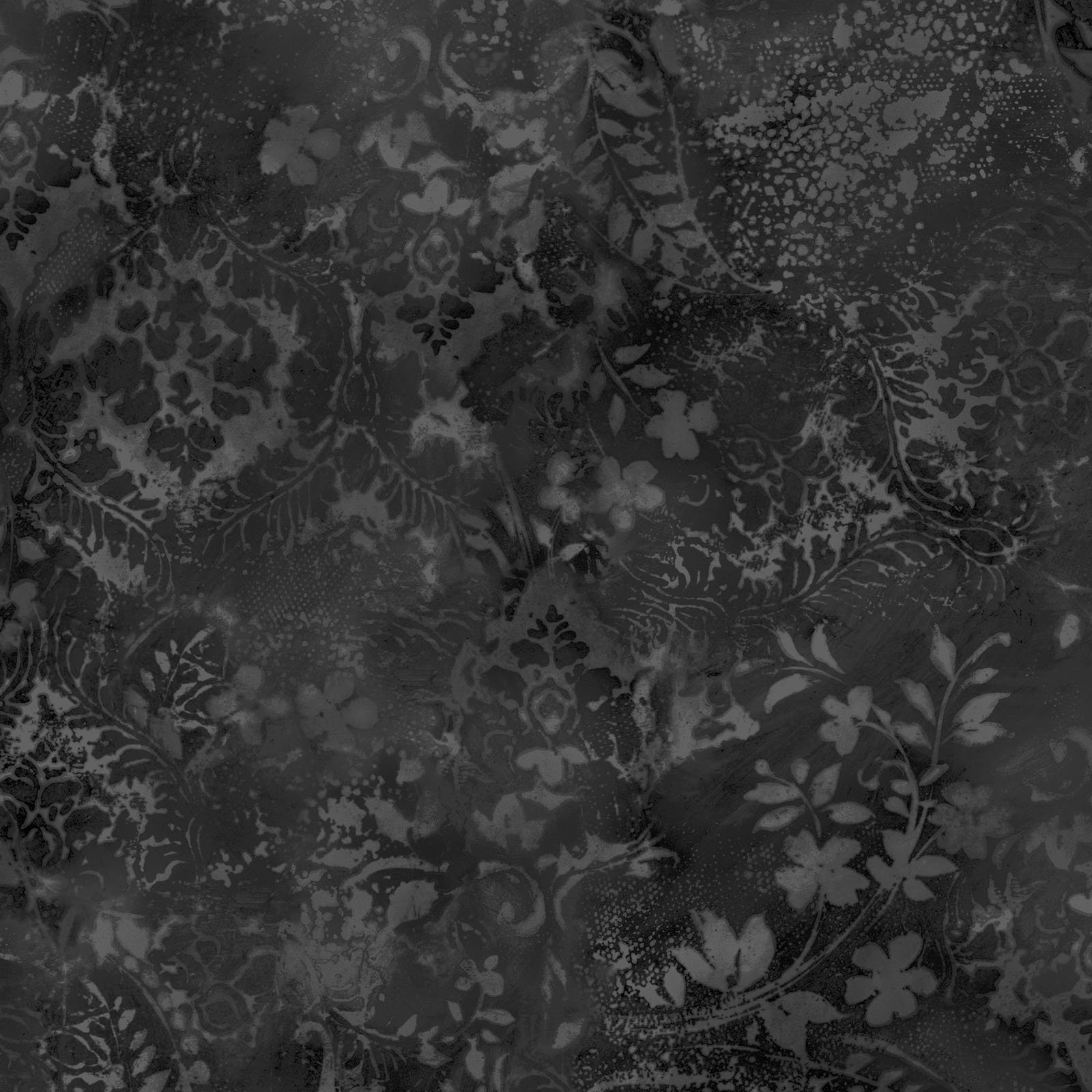 EESC-QBD105 J - BEAUTIFUL BACKING 108 VINTAGE DAMASK BY MAYWOOD BLACK/ GREY - ARRIVING IN MAY 2021