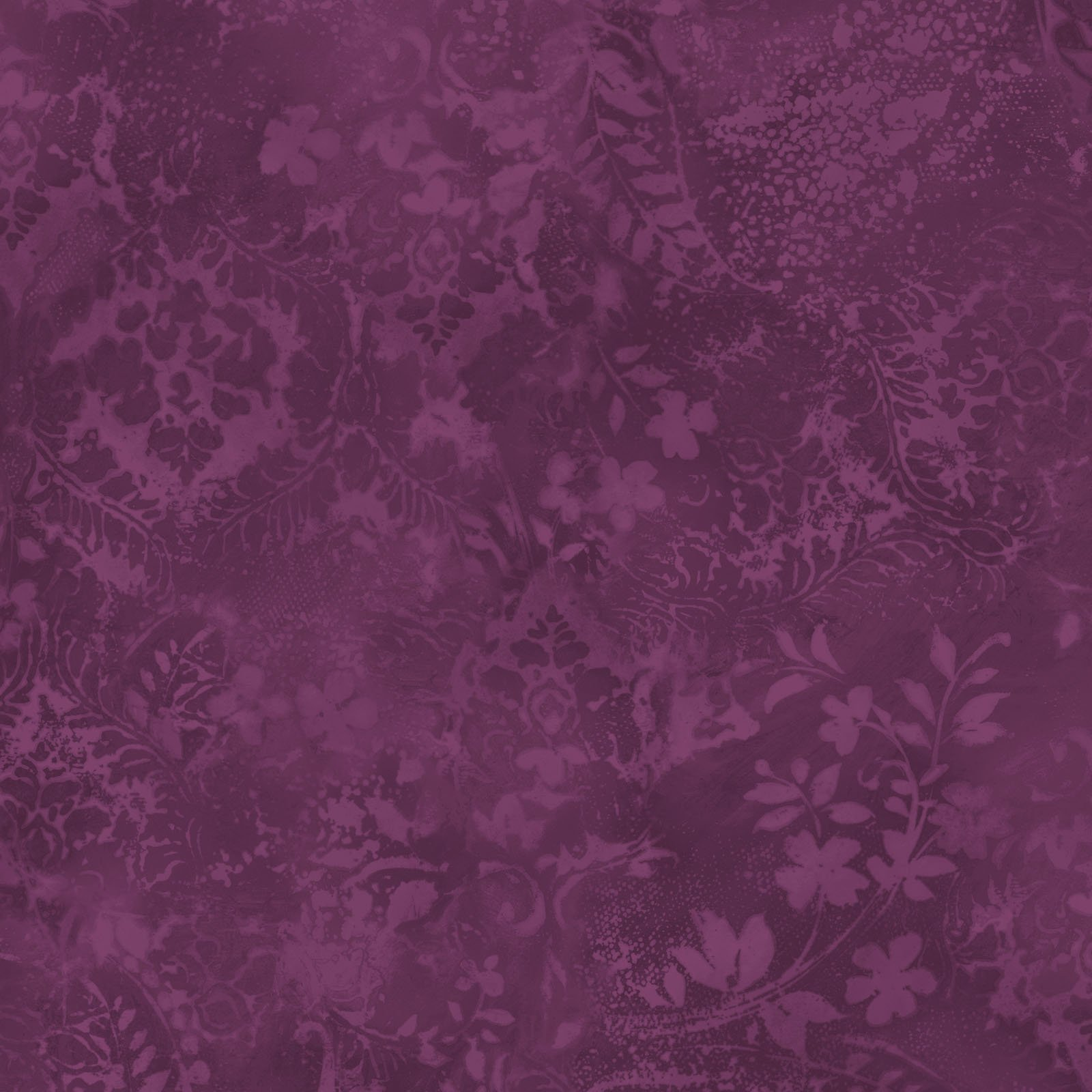 EESC-QBD105 V - BEAUTIFUL BACKING 108 VINTAGE DAMASK BY MAYWOOD PLUM - ARRIVING IN MAY 2021