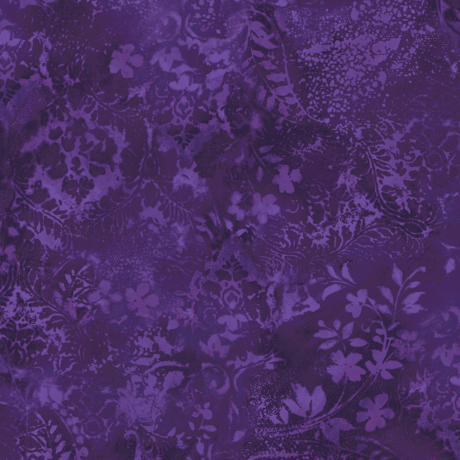 EESC-QBD105 V2 - BEAUTIFUL BACKING 108 VINTAGE DAMASK BY MAYWOOD PURPLE - ARRIVING IN MAY 2021