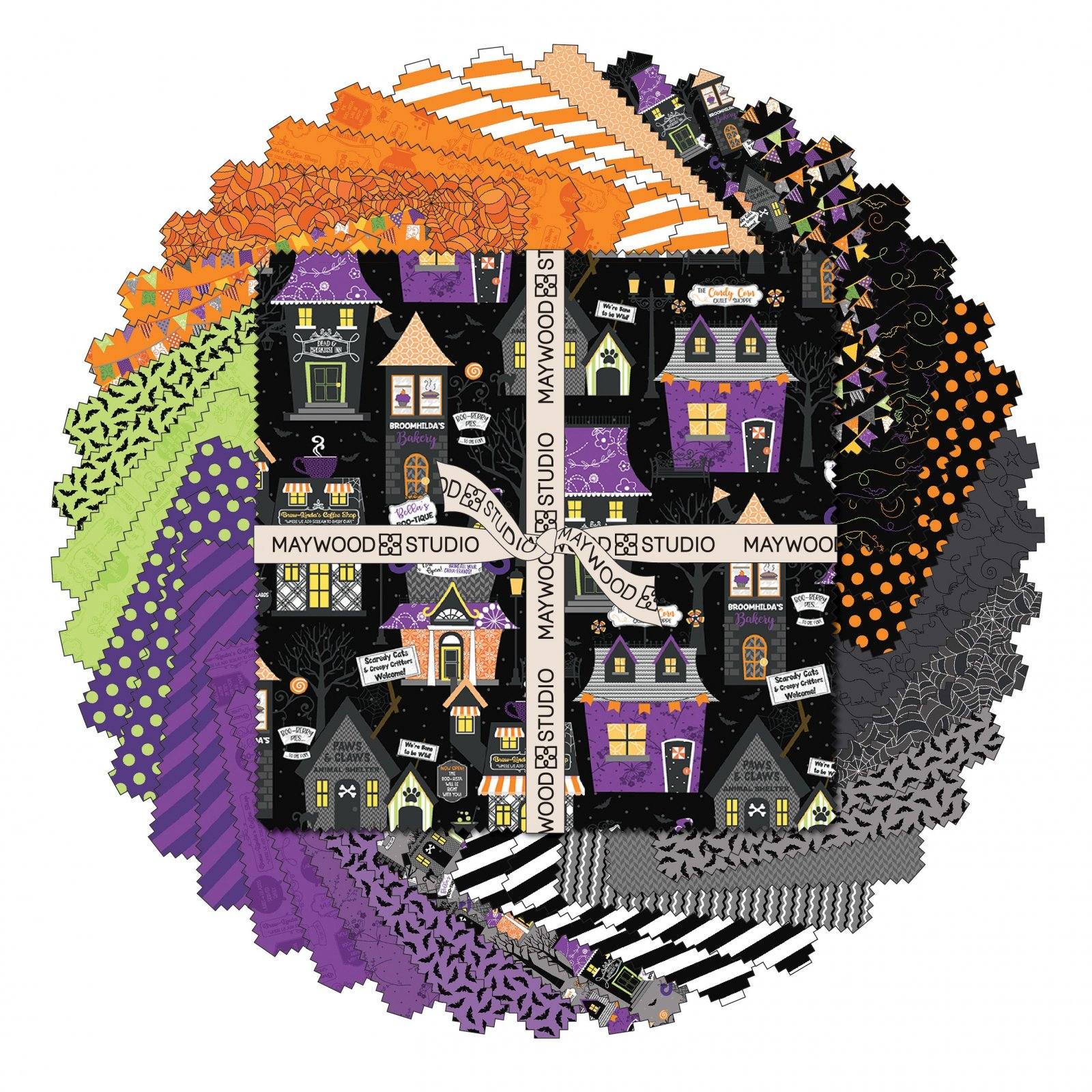 EESC-SQMASHTH - HOMETOWN HALLOWEEN - 10 SQUARES (42PC) - ARRIVING IN JULY 2021