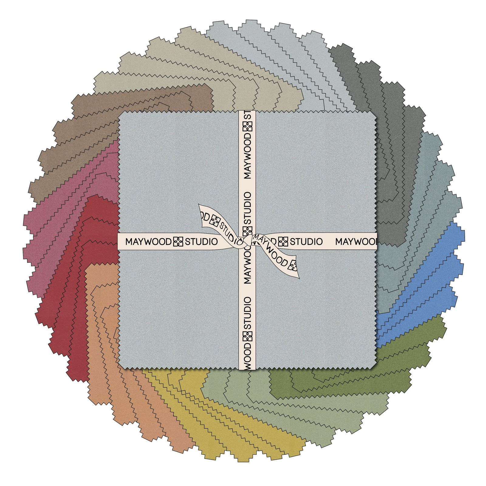 EESC-SQMASSTM - STARLIGHT METALLICS 10 SQUARES (42PC) - AVAILABLE TO ORDER