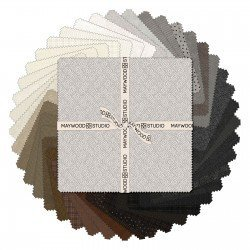EESC-SQMASWOF NEU - WOOLIES FLANNEL 2015 NEUTRAL 10 SQUARES