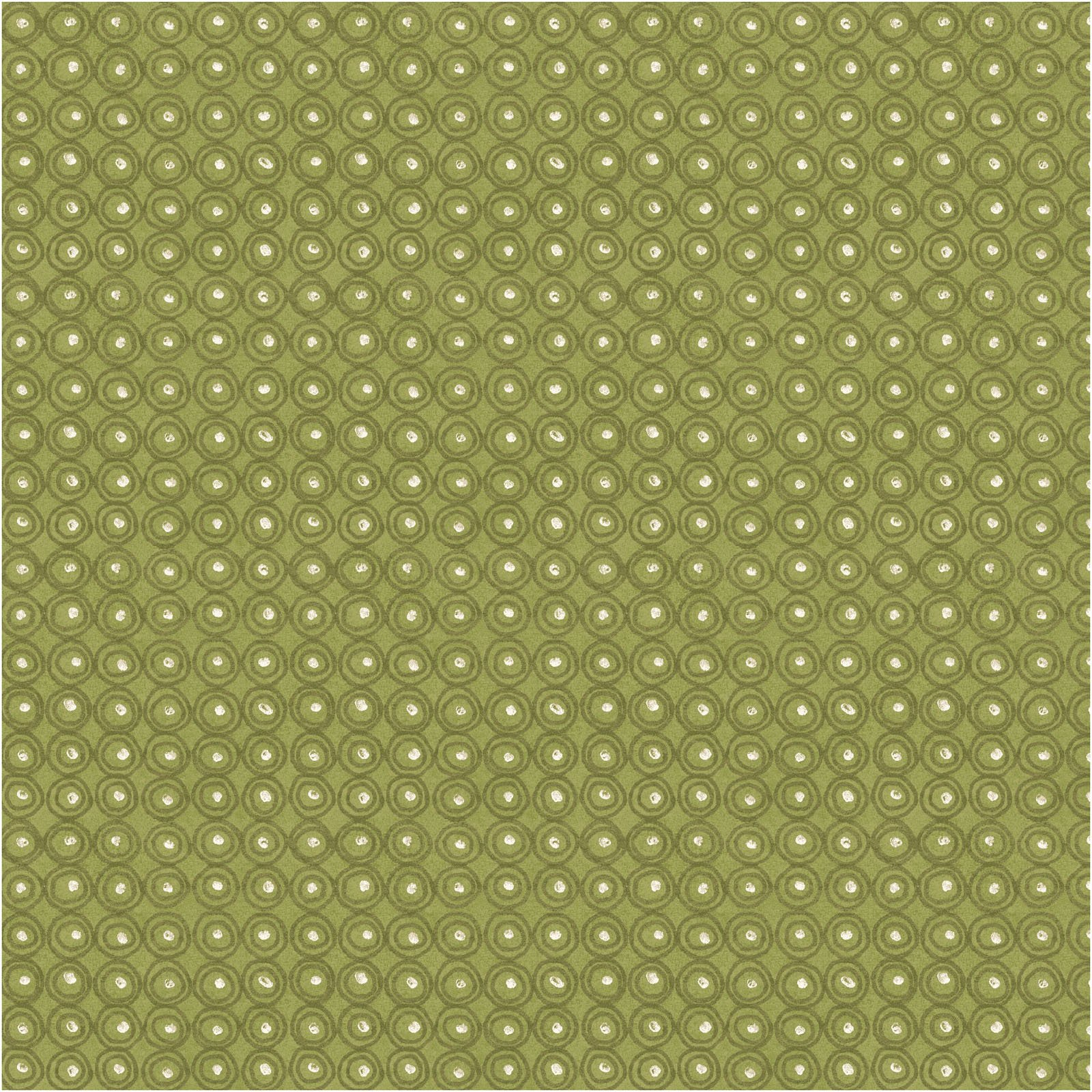 FAFL-4190 G - FARAH FLOWERS BY CRYSTAL DESIGNS CIRCLES GREEN