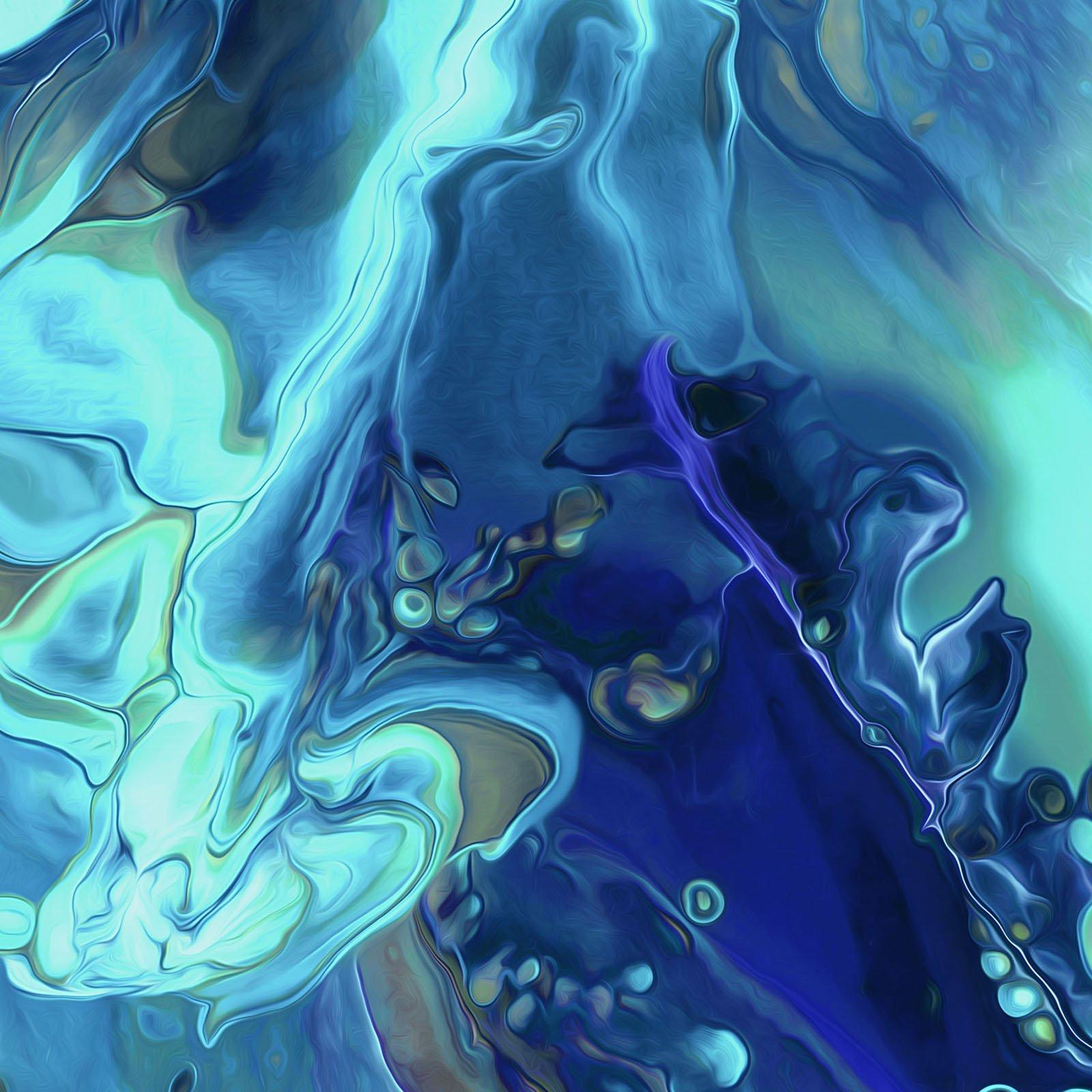 FLU2-4310 BT - FLUIDITY 2 BY PDR LLC WAVES BLUE/TEAL