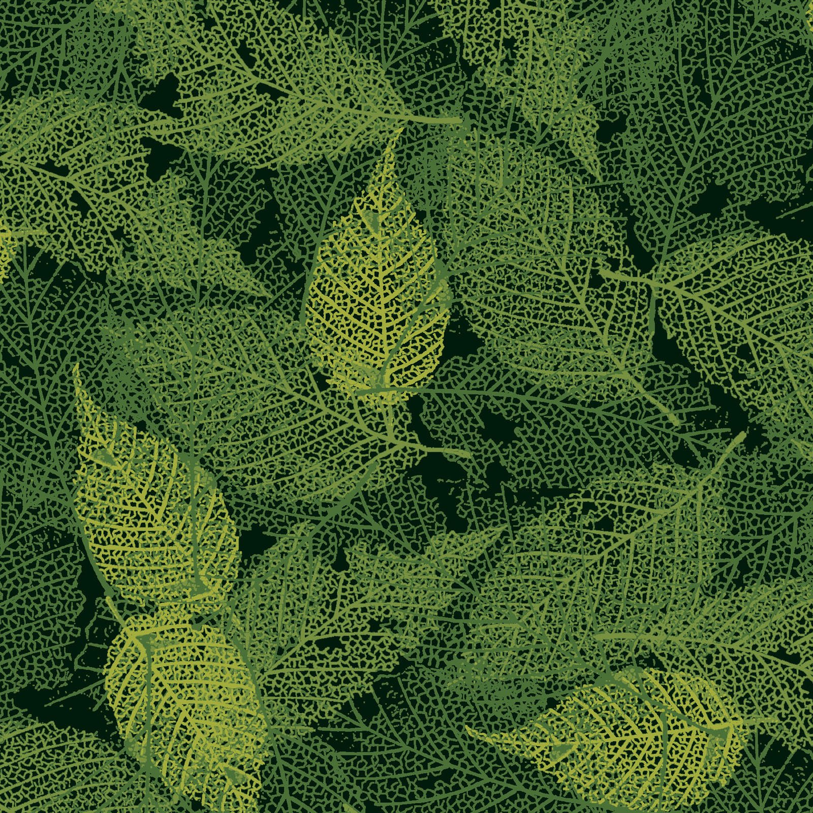 FOLI-4478 GG - FOLIAGE BY P&B BOUTIQUE TEXTURE LEAVES DK GREEN - ARRIVING IN MAY 2021