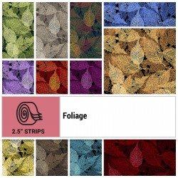 FOLI-STRIPS - FOLIAGE 2.5 STRIP ROLLS BY P&B BOUTIQUE 40PCS