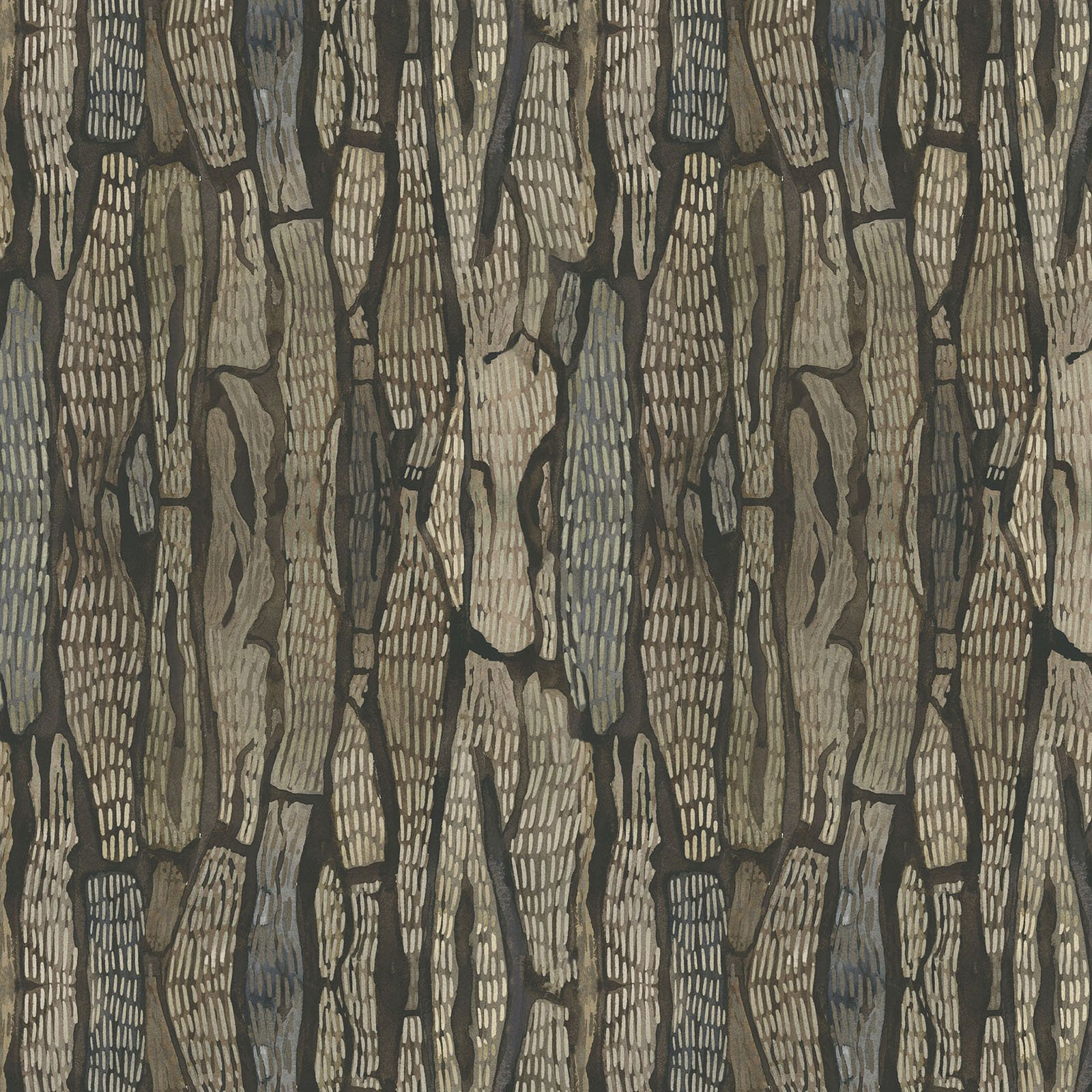 FRET-4335 Z - FOREST RETREAT BY JETTY HOME BARK BROWN