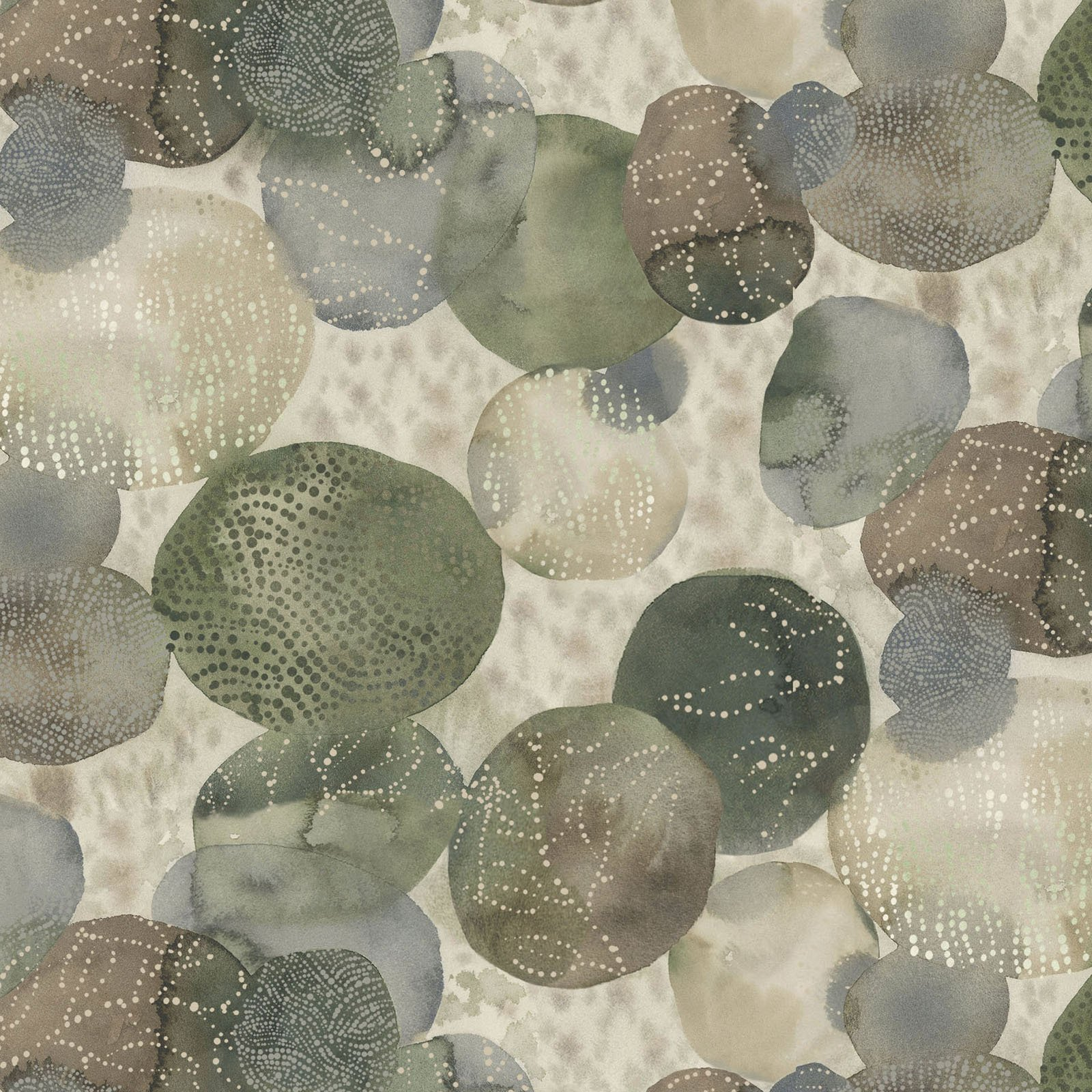 FRET-4336 MU - FOREST RETREAT BY JETTY HOME TEXTURE STONES MULTI