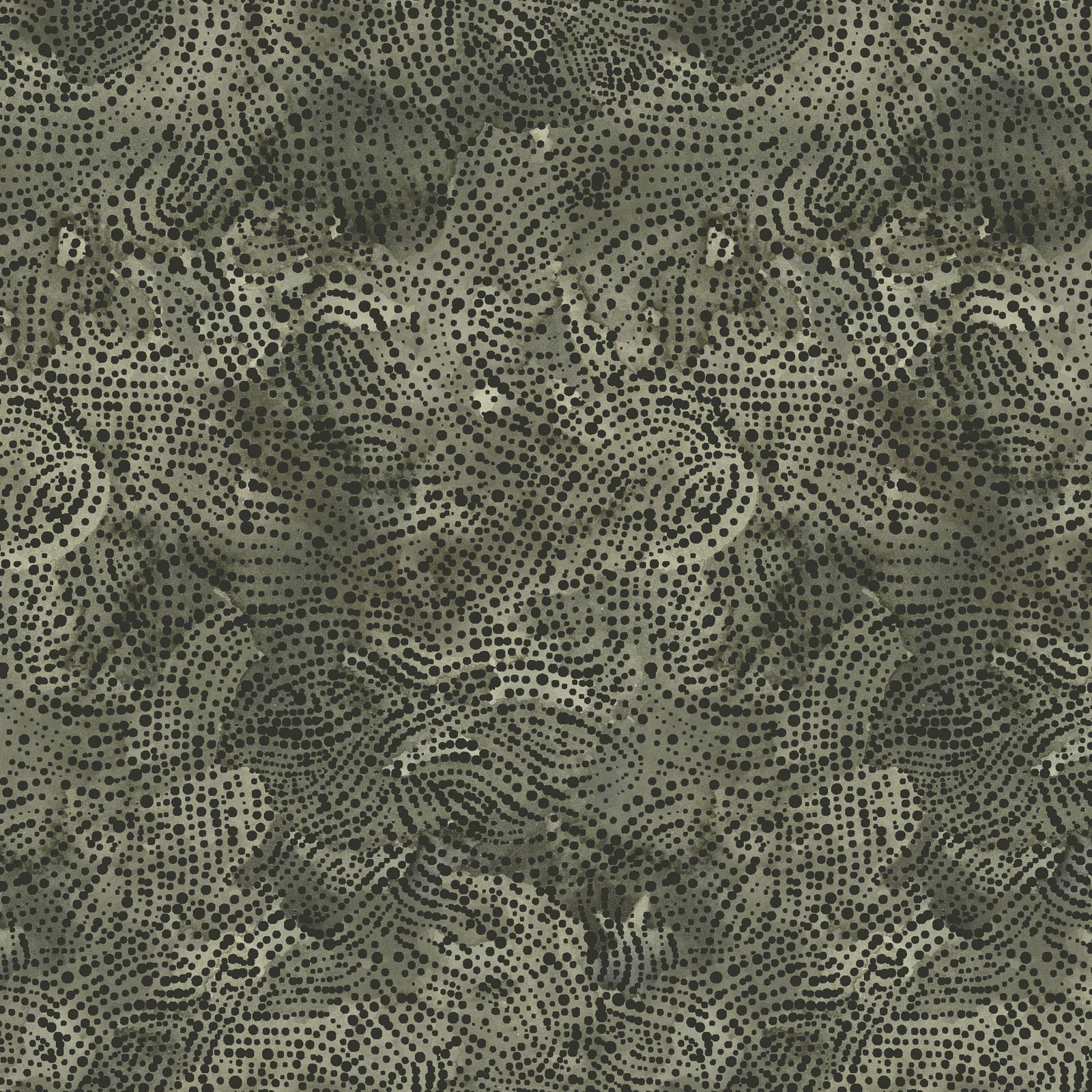 FRET-4339 GG - FOREST RETREAT BY JETTY HOME DOTS DARK GREEN