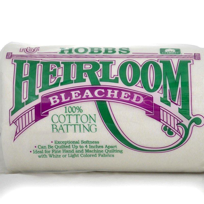HOBB-HBSBY96 - HEIRLOOM BLEACHED SCRIM 100% COT. 96 WIDE - SOLD BY THE METER