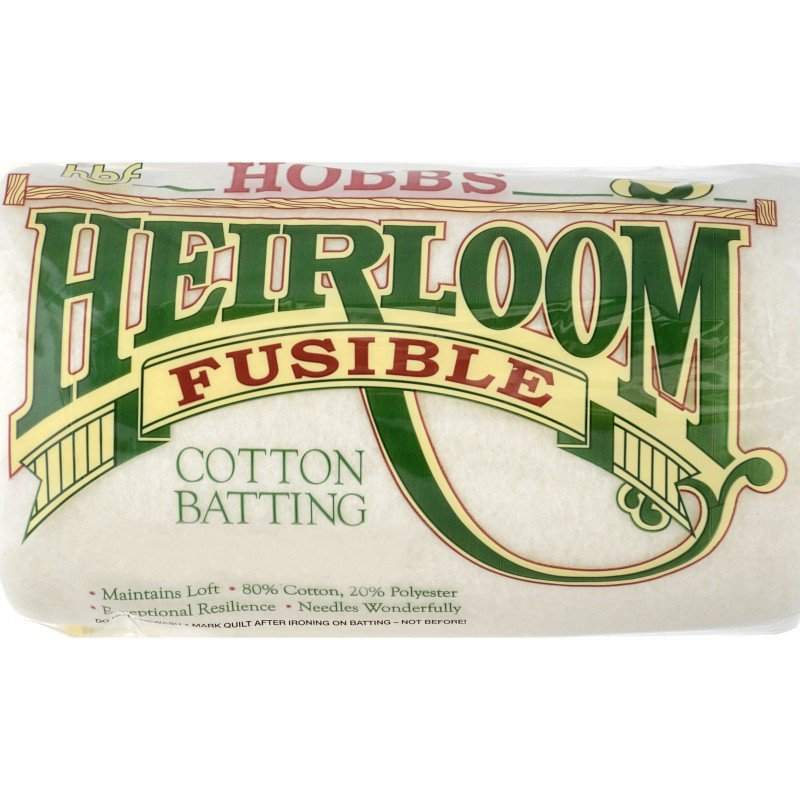 HOBB-HFBY96 - HEIRLOOM FUSIBLE  80%COT.20%POLY 96 WIDE - SOLD BY THE METER