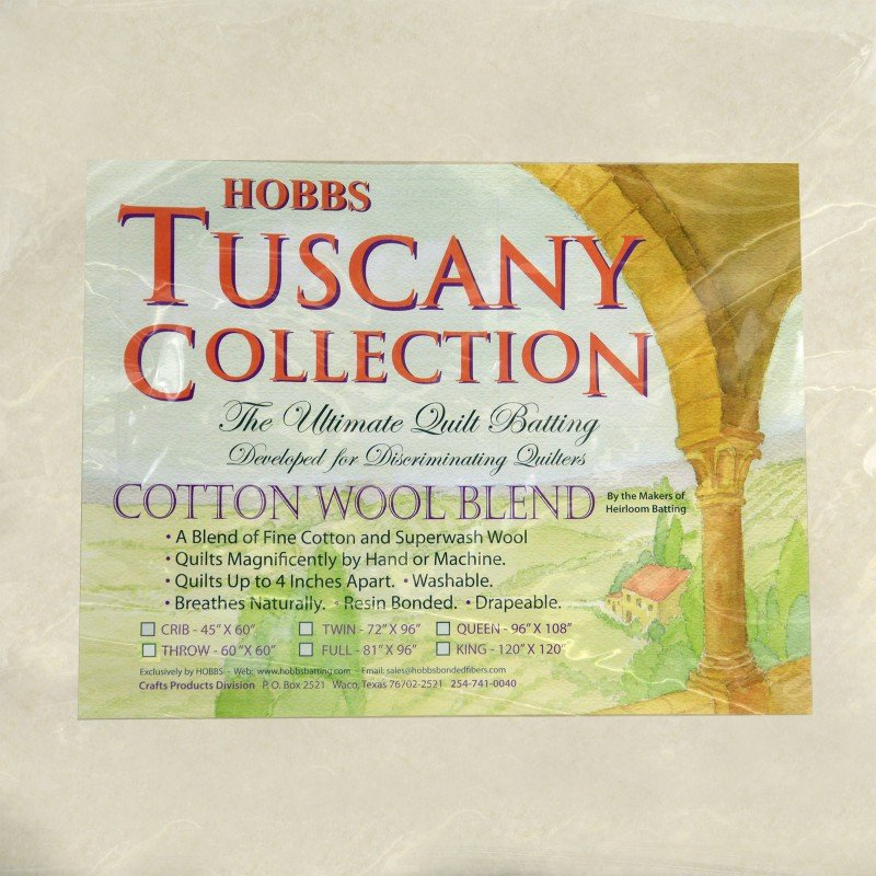 HOBB-TCWBY96 91 - TUSCANY COTTON WOOL 80%COT20%WOOL 96 WIDE x 9.1MT BOLT