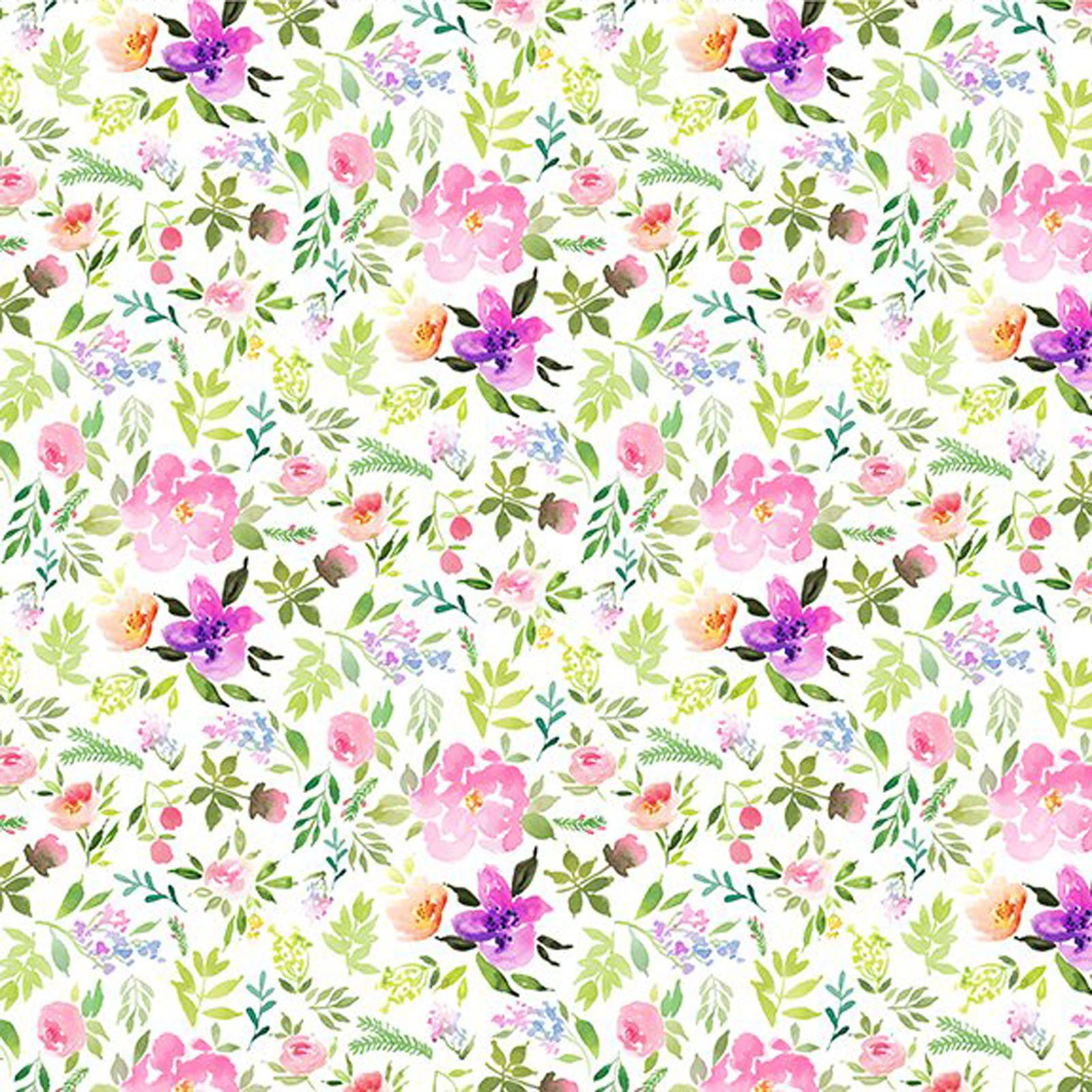 INTH-11GSH 2 - WATERCOLOR BEAUTY BY IN THE BEGINNING SPRIG PINK - ARRIVING IN MAY 2021
