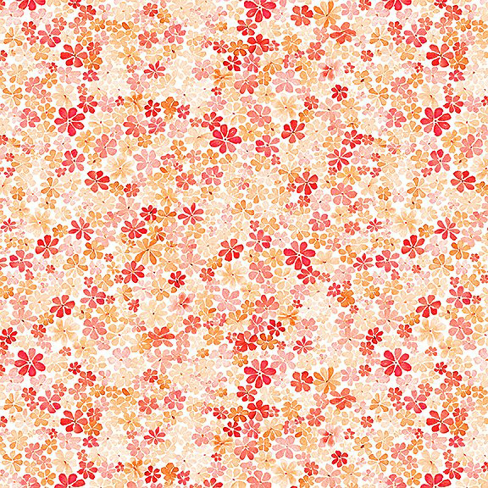 INTH-17GSH 1 - WATERCOLOR BEAUTY BY IN THE BEGINNING DAISY ORANGE - ARRIVING IN MAY 2021