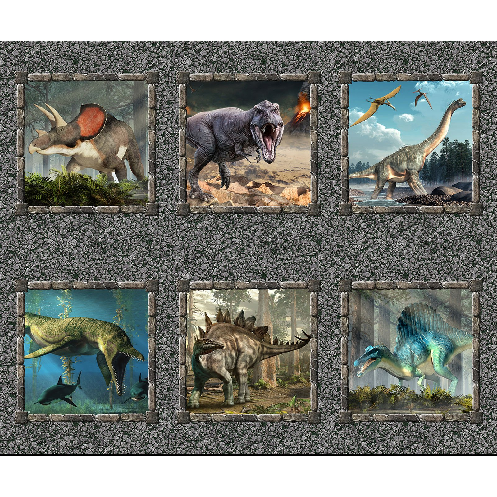 INTH-2JUR 1 - JURASSIC BY IN THE BEGINNING DINOSAUR SMALL PANEL MULTI-Delivery December 2020