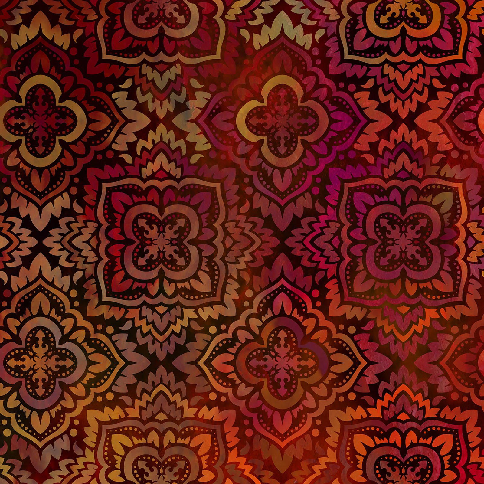 INTH-3TAP 1 - TAPESTRY BY JASON YENTER MEDALLION SPICE- Delivery September 2020
