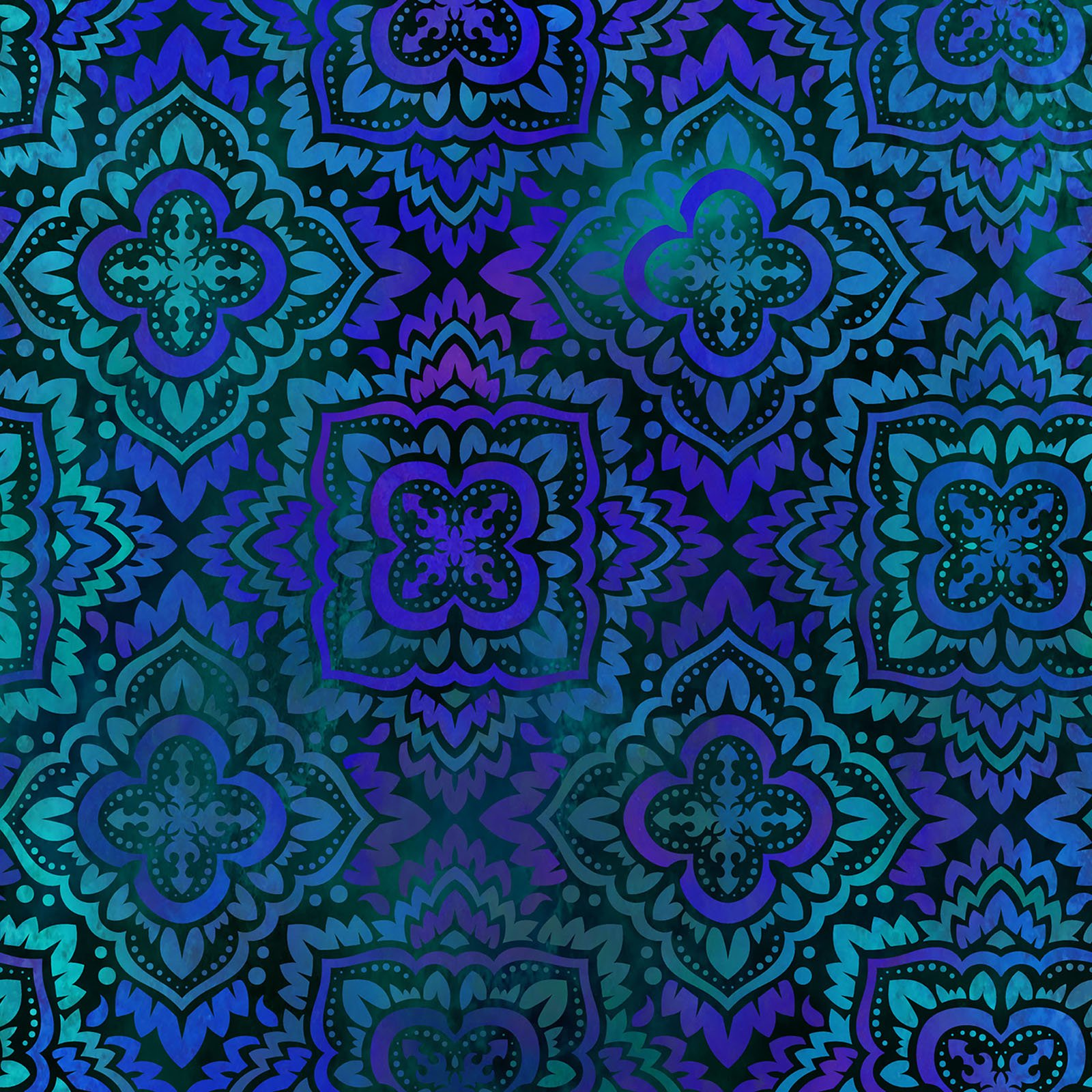 INTH-3TAP 2 - TAPESTRY BY JASON YENTER MEDALLION BLUE- Delivery September 2020