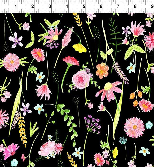 INTH-4JHS 1 - FLOWER MARKET BY JENNIFER HEYNEN LARGE FLOWER MULTI - ARRIVING IN MARCH 2022