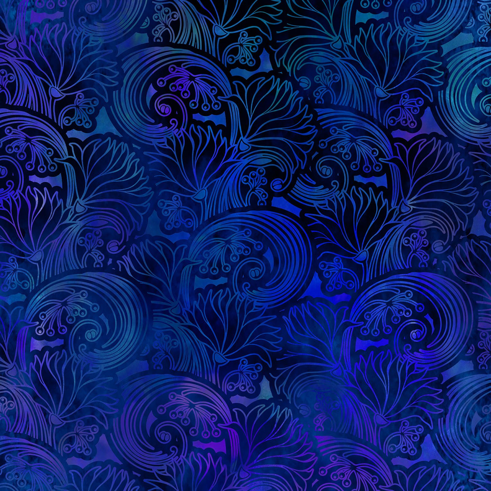 INTH-6TAP 2 - TAPESTRY BY JASON YENTER SWIRL BLUE- Delivery September 2020