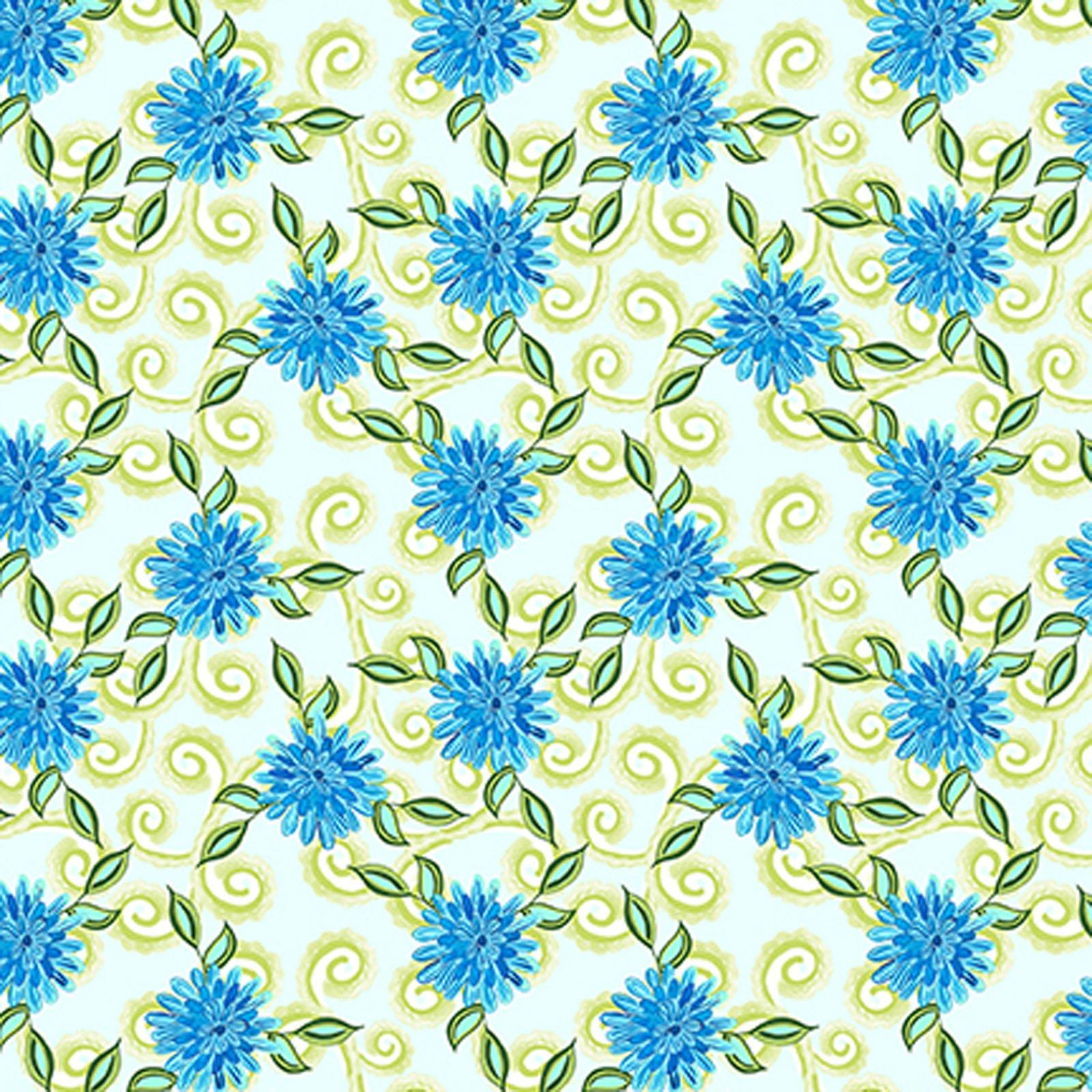 INTH-9JHR 1 - PETIT JARDIN BY JENNIFER HEYNEN MARIGOLD BLUE