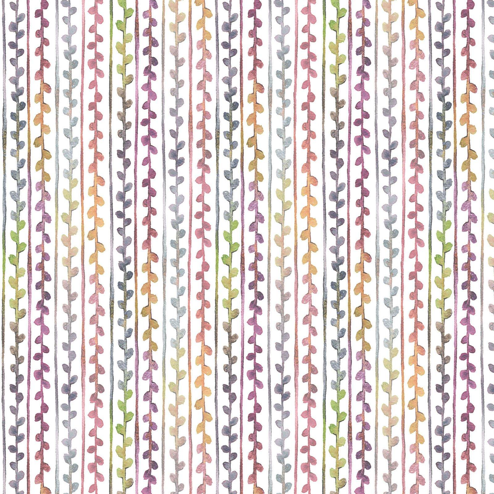 LIDW-4345 MU - LITTLE DARLINGS WOODLAND BY SILLIER THAN SALLY SMALL STRIPE MULTI