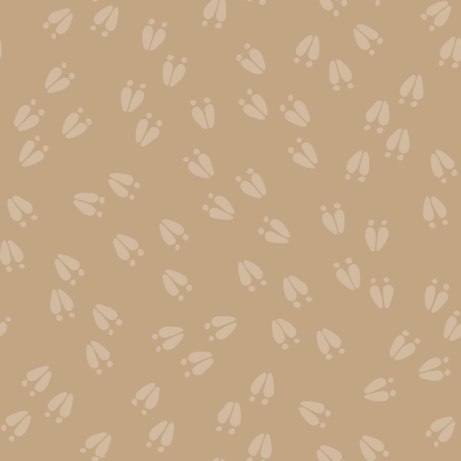 LITC-4298 NE - LITTLE CRITTERS BY ROBIN RODERICK ANIMAL PRINT CREAM
