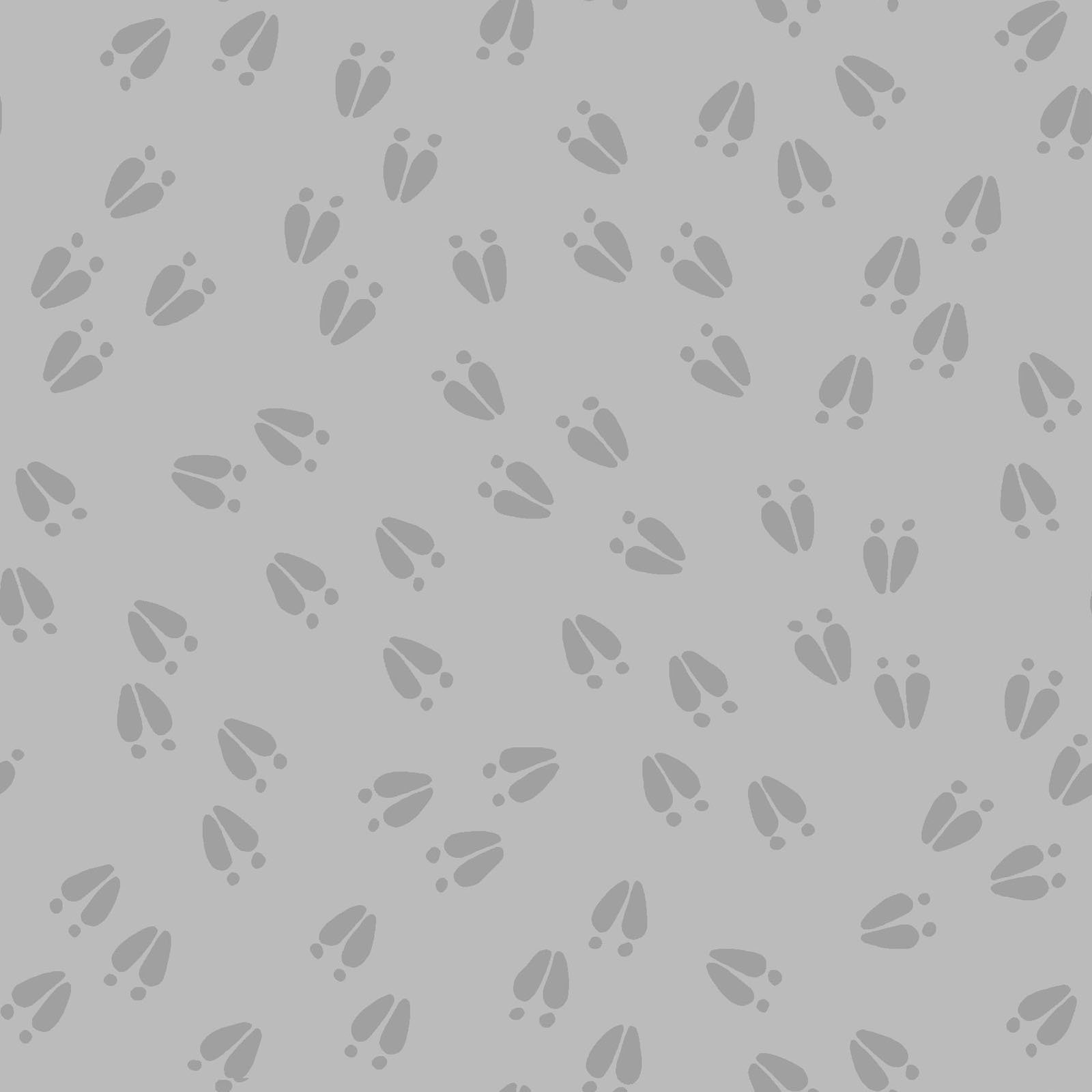 LITC-4298 S - LITTLE CRITTERS BY ROBIN RODERICK ANIMAL PRINT GREY