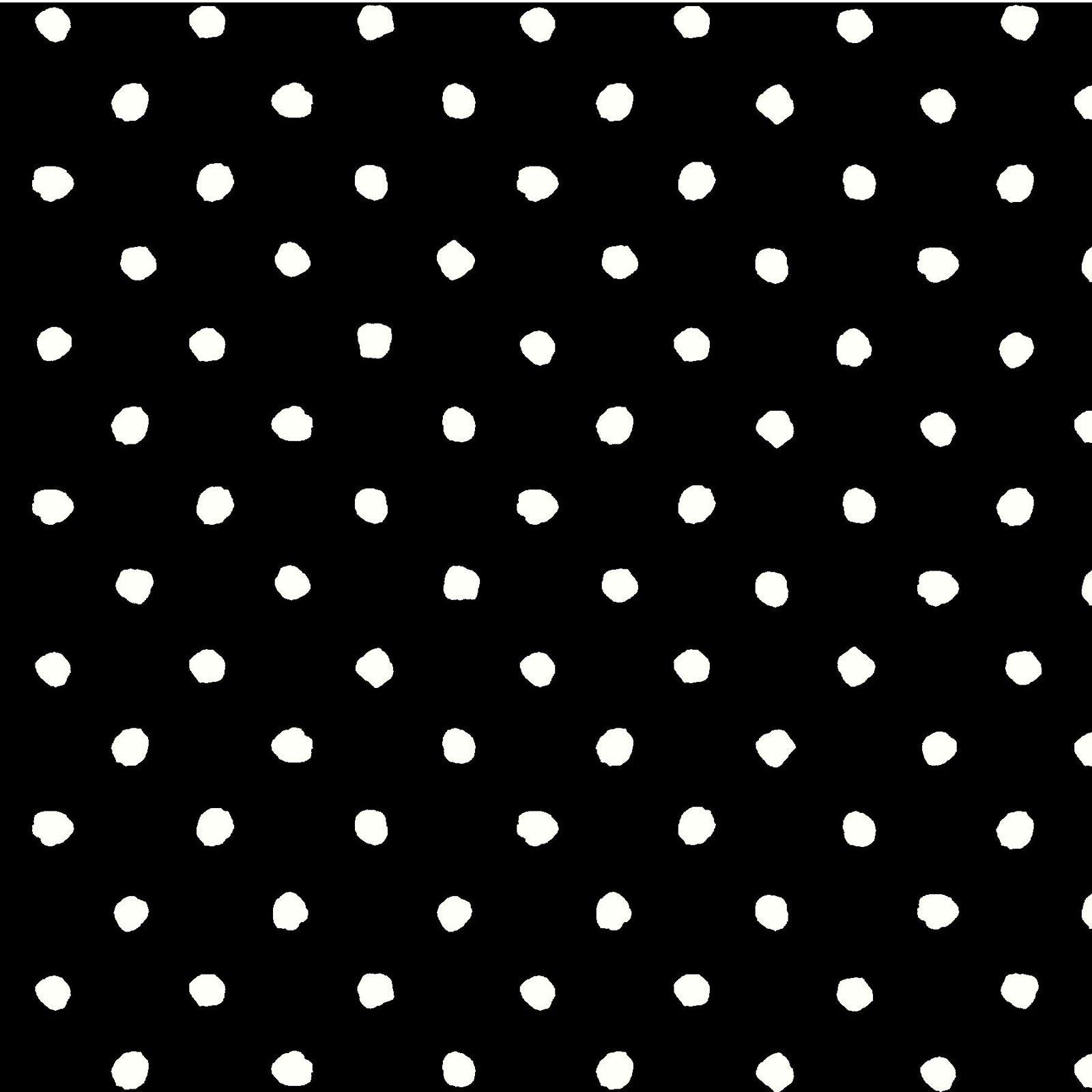 MAGN-4255 K - MAGNOLIAS BY SANDY CLOUGH DOTS BLACK
