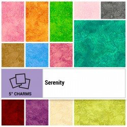 SERE-005X5 - SERENITY 5 SQUARES BY P&B BOUTIQUE 42PCS - ARRIVING IN JULY 2021