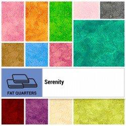 SERE-18X22 - SERENITY FAT QUARTER BUNDLE BY P&B BOUTIQUE 36PCS - ARRIVING IN JULY 2021