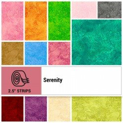 SERE-STRIPS - SERENITY 2.5 STRIP ROLLS BY P&B BOUTIQUE 40PCS - ARRIVING IN JULY 2021